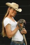 животный укротитель Стоковая Фотография RF