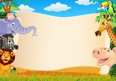 животный шарж Стоковая Фотография RF