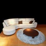 живущая белизна комнаты Стоковое Изображение RF