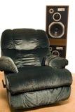 живущая звуковая система комнаты Стоковые Изображения