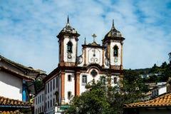 Живущая история в Ouro Preto (минах Gerais - Бразилии) Стоковые Изображения RF