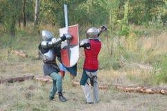 Живущая история средневеково стоковые изображения