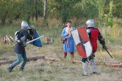 Живущая история средневеково стоковое фото rf