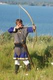 Живущая история средневеково стоковое изображение