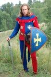 Живущая история средневеково стоковая фотография