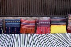 Живущая комната и подушка Стоковое Изображение