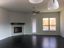 Живущая комната нового дома Стоковая Фотография RF