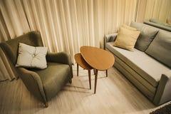 живущая комната теплая Стоковые Фотографии RF