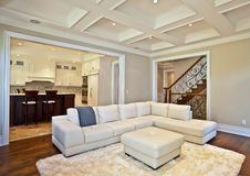 Живущая комната Стоковая Фотография
