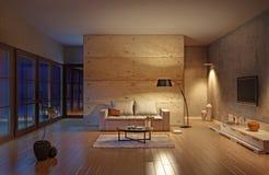 живущая комната Стоковые Изображения