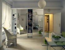 живущая комната Стоковые Фото