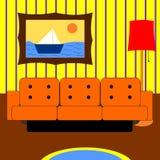 Живущая комната Стоковые Фотографии RF
