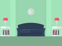 живущая комната 4 Стоковое Фото