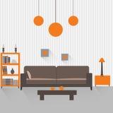 1 живущая комната Стоковая Фотография RF