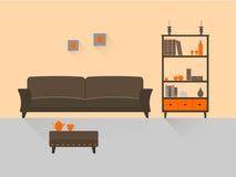 Живущая комната 5 Стоковые Изображения RF