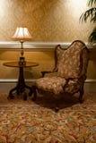 живущая ретро комната стоковые фотографии rf