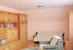 живущая ретро комната 2 Стоковая Фотография RF