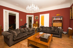 живущая роскошная комната Стоковое Изображение