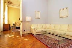 живущая роскошная комната Стоковое фото RF