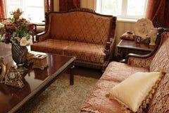 живущая роскошная комната Стоковые Фотографии RF