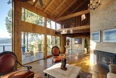 живущая роскошная комната Стоковая Фотография RF