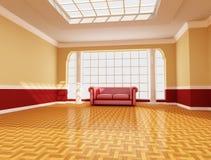живущая роскошная комната Стоковые Изображения
