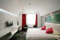 живущая самомоднейшая комната Стоковые Фотографии RF