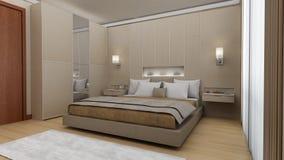 Живущая спальня стоковые изображения