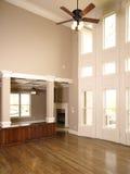 живущее роскошное окно стены комнаты 2 Стоковая Фотография