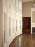 живущее роскошное окно стены комнаты 3 Стоковые Изображения RF