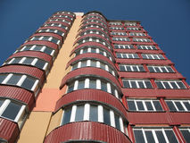 Живущее современное здание Стоковое фото RF