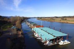 живущее residendial река стоковое фото rf