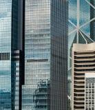Живущие здания в центральной перезаселенности Гонконга стоковая фотография rf
