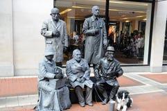 Живущие скульптуры стоковое изображение rf