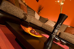 живущий востоковедный тип комнаты теплый Стоковые Фото
