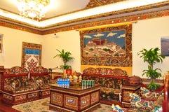 живущий тибетец комнаты Стоковые Изображения RF