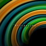 Жидкий смешивая дизайн предпосылки конспекта волны вектора цветов Красочные волны сетки Стоковое Фото