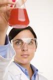 жидкостная наука Стоковые Фото