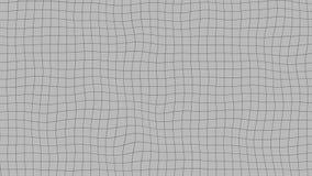 Жидкостная серая решетка, loopable анимация иллюстрация штока
