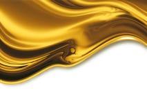 Жидкостное золото Стоковая Фотография RF