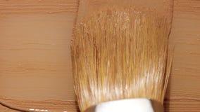 Жидкостный smudge текстуры учреждения с щеткой Стоковое фото RF