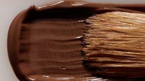Жидкостный smudge текстуры учреждения с щеткой Стоковые Изображения RF