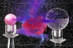 жидкость абстрактного искусства Стоковое Изображение