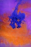 жидкость абстрактного искусства Стоковые Фото