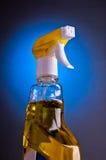жидкость бутылки вверх моя стоковое фото rf