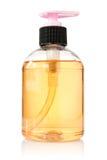 жидкость бутылки прозрачная Стоковое фото RF