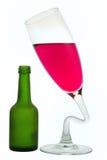 жидкость бутылочного стекла Стоковое Изображение