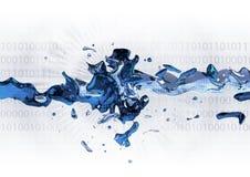 жидкость данным по обменом Стоковая Фотография RF