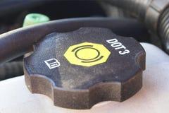 жидкость крышки тормоза Стоковое фото RF