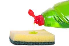 жидкость тарелки Стоковое Фото